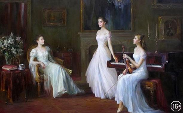 Фотопроект «Тургеневские девушки в дворянском доме»