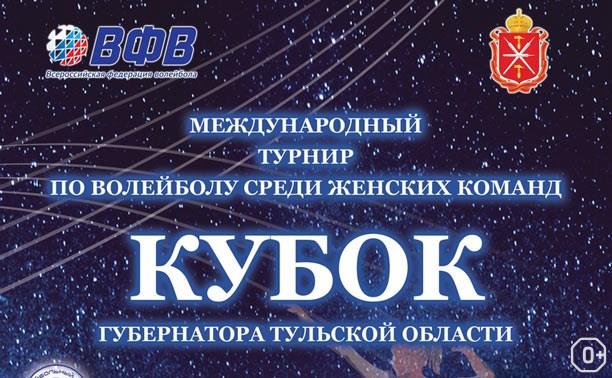 Кубок губернатора Тульской области по волейболу
