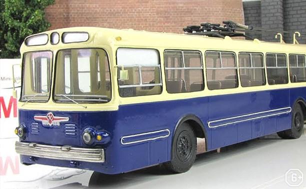 Появление первого троллейбуса в Туле