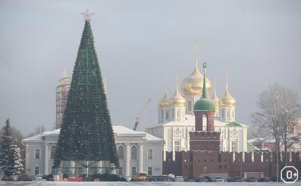 Новый год на площади Ленина