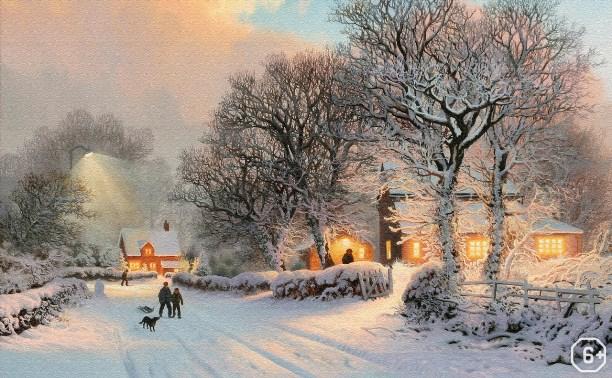 Куликово полеведение: Рисуем зимний пейзаж