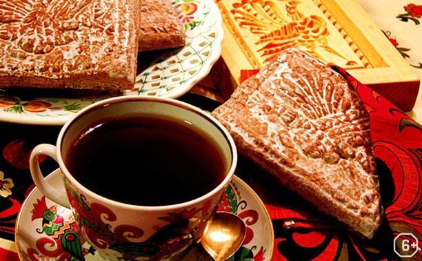 Мастер-класс «Пей чай, да пряником заедай»