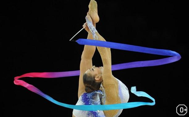 Художественная гимнастика: соревнования в честь 73 годовщины Победы.