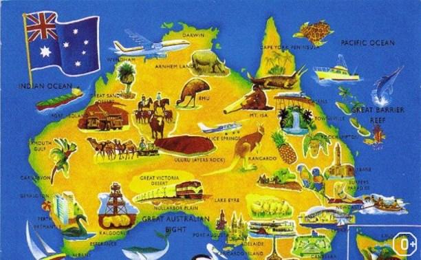 Кругосветное путешествие: Австралия