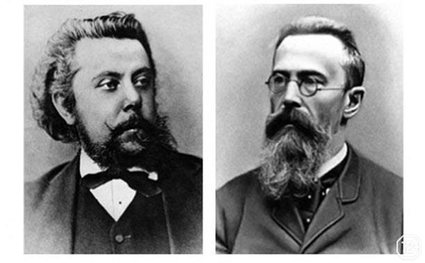 Композиторы «могучей кучки»: М.П. Мусоргский и Н.А. Римский-Корсаков
