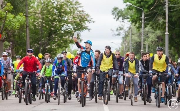 Весенний велопарад Тинькофф