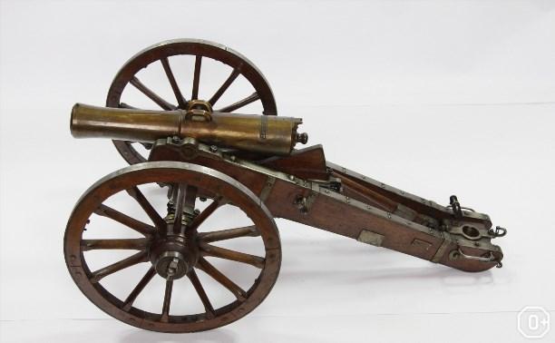 Артиллерия конца XVIII-середины XIX веков в моделях