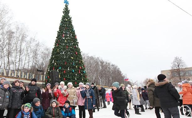Новогодние празднования в Центральном парке