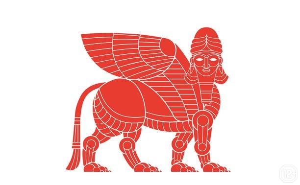 Ассирийская надпись. Царства Междуречья