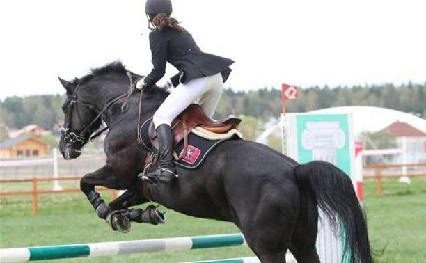Соренования по конному спорту