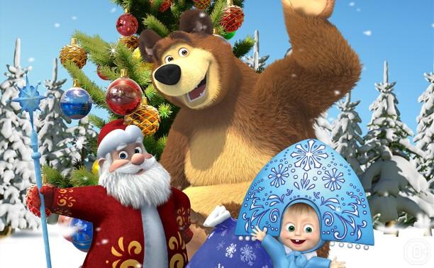 КиноДетство: Маша и Медведь. Как хорошо мы подружились!