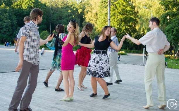 Танцевальный вечер на ротонде