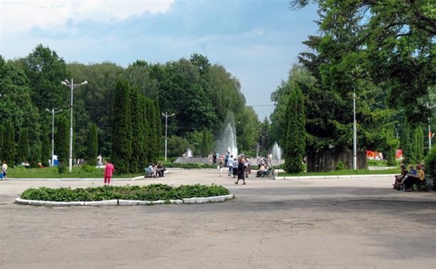 День города. Центральный парк