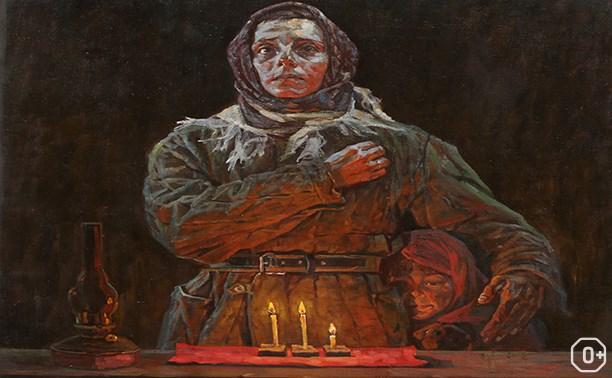 Персональная выставка Андрея Дроздова «На защите Отечества»