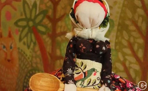 Изготовление куклы из деревянной ложки