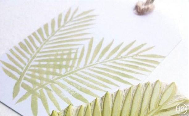 Основы дизайна интерьера: Печать на ткани с использованием штампов