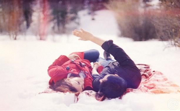 День влюблённых в парке