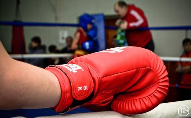 Матчевая встреча по боксу