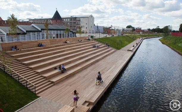 Открытие Казанской набережной
