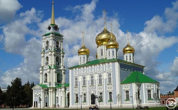 Многочудная роспись. Монументальные росписи Свято-Успенского собора Тульского кремля