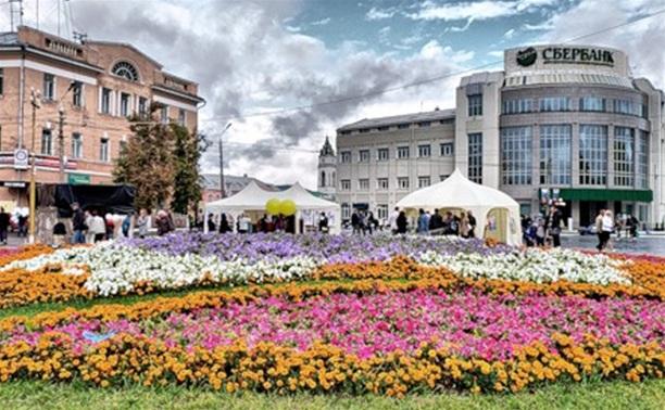 День города. Крестовоздвиженская площадь