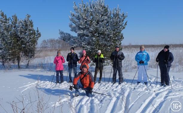 Лыжня с профессором О.Г. Вронским