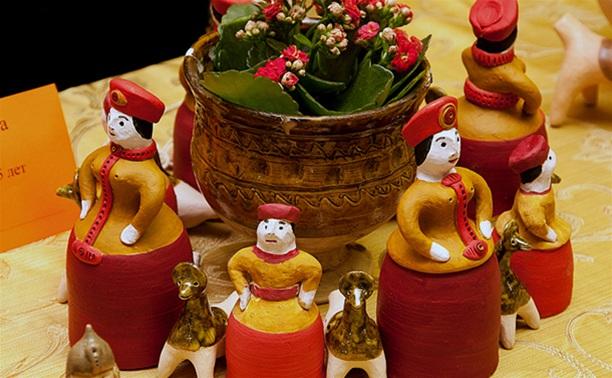 Выставка глиняной игрушки Юрия Жиляева
