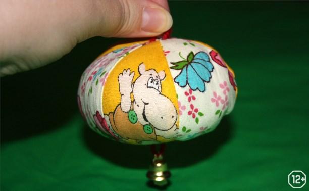 Радушный музей: Мяч из пёстрых лоскутков