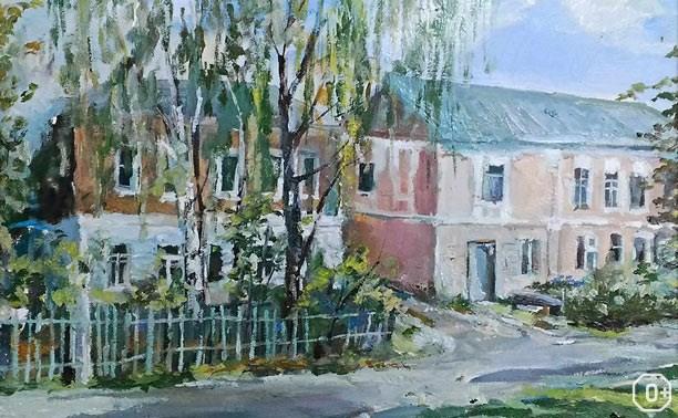Пленэр в Крапивне