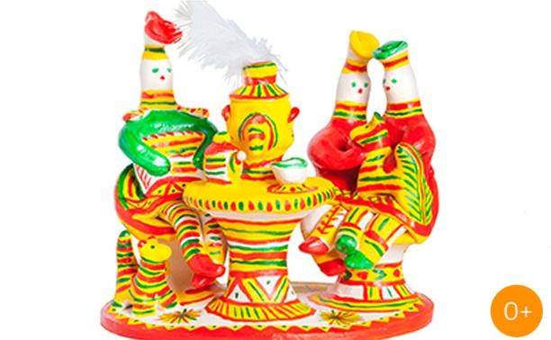 Выставка филимоновской игрушки Ирины Бежиной