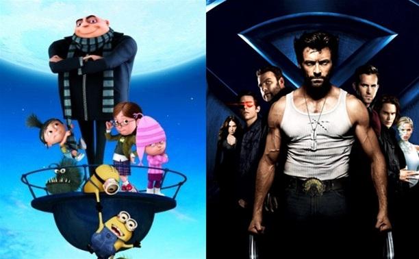 «Гадкий Я» (2010) и «Люди Икс: Начало. Росомаха» (2009)