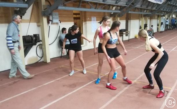 Первенство Тульской области по лёгкой атлетике в закрытом помещении