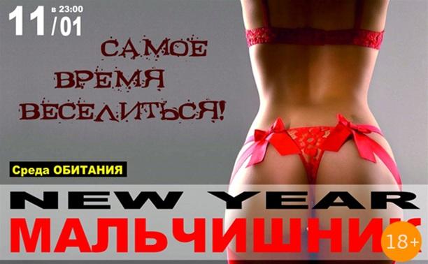 New year Мальчишник
