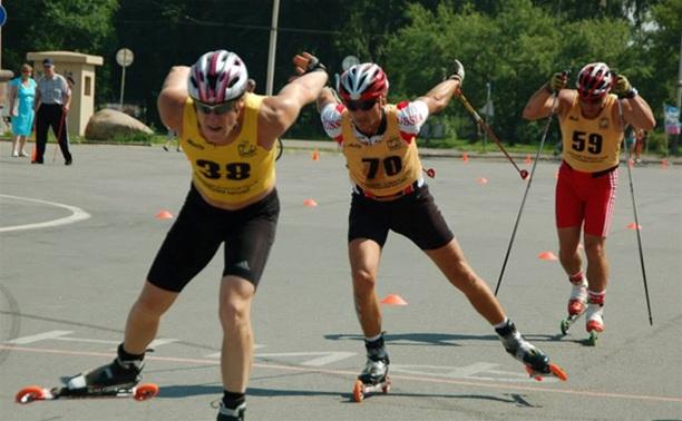 Соревнования по лыжероллерному спринту