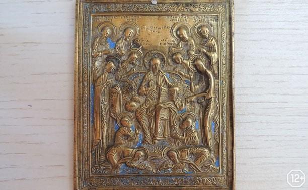 Мелкая пластика церковной утвари из собрания Тульского областного краеведческого музея