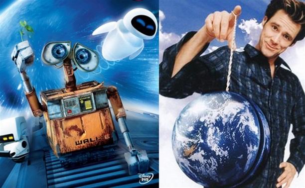 «Валли» (2008) и «Брюс всемогущий» (2008)