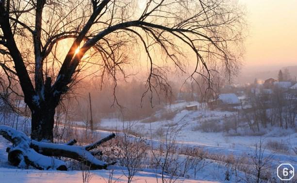 Зимние фантазии природы