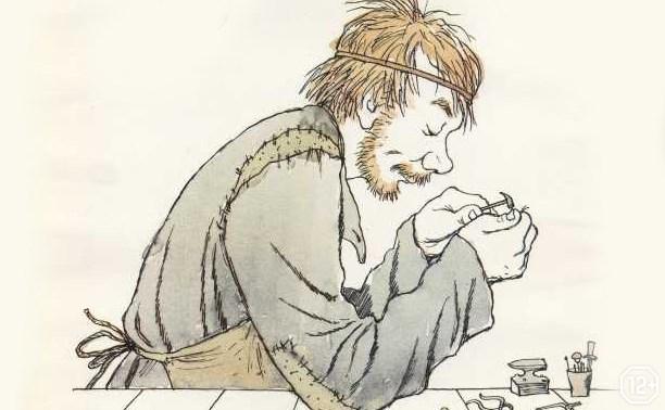 Левша в иллюстрациях Кукрыниксов