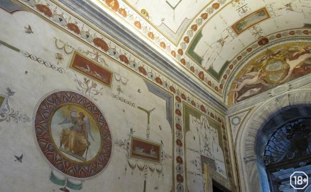 Гравюры с росписей Лоджий Рафаэля в Ватикане