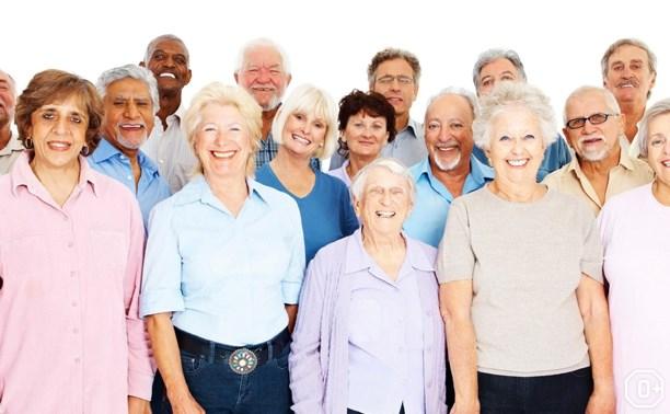 День пожилых людей в парке