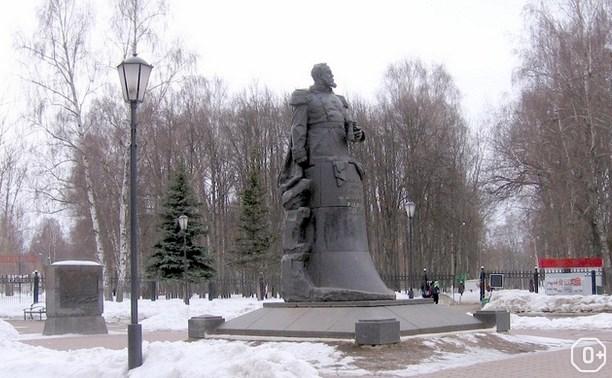 Новогодние празднования в Комсомольском парке