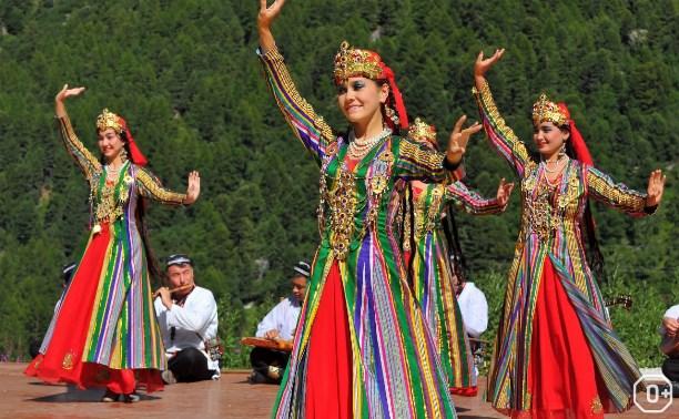 Национальные среднеазиатские танцы