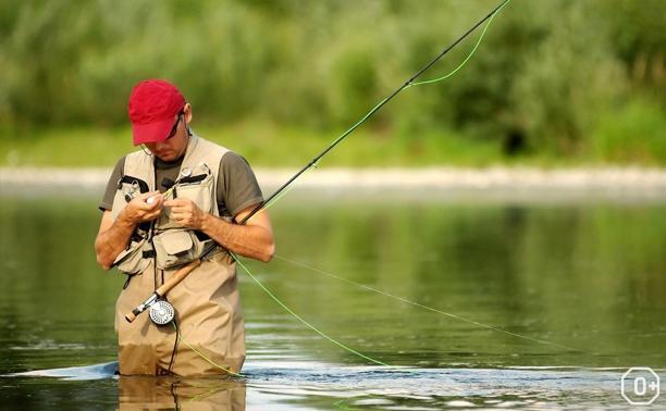 Летний день рыбака