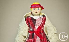 Куколки-скелетцы в национальном костюме