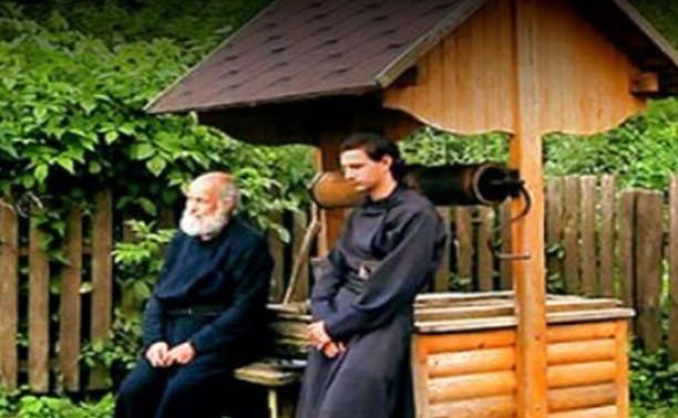 Старец Паисий и я, стоящий вверх ногами