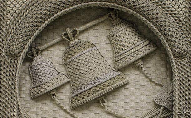 Иконы из льняной нити