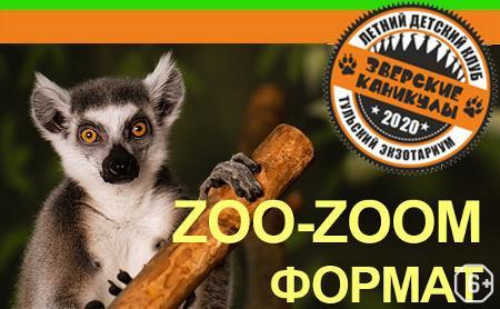 Летний детский клуб «Зверские каникулы: ZOO-ZOOM формат»