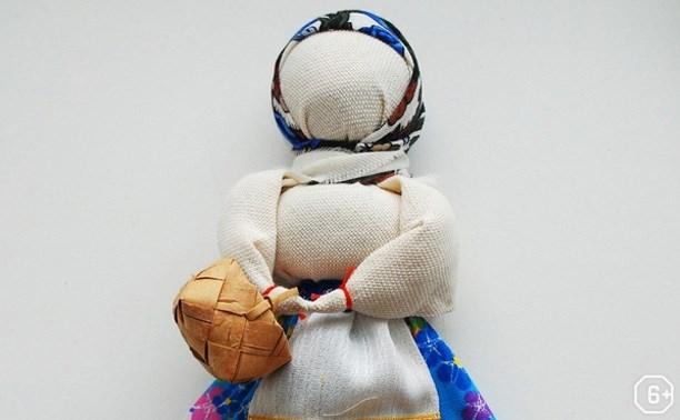 Народная кукла-закрутка
