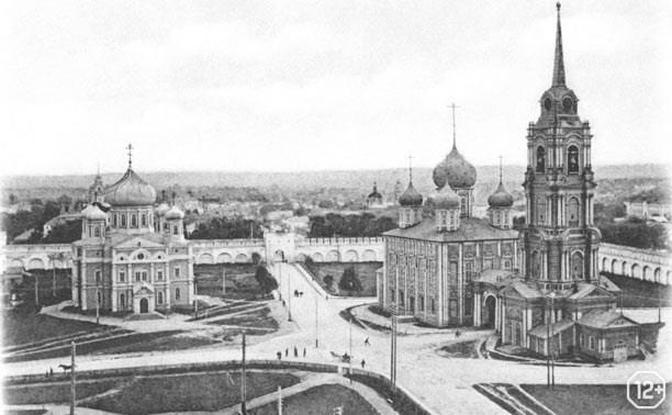 Соборы Тульского кремля