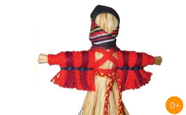 Традиционная тряпичная кукла «Кукушка»